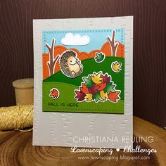 Lawnscaping Challenge: Fall Is Here with Christy