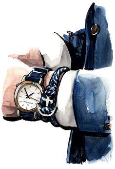 Thread Etiquette - sunflowerman.com Daily Fashion, Fashion Art, Fashion Design, Pencil Drawings, Art Drawings, Watercolour Tutorials, Instagram Highlight Icons, Fashion Sketches, Watercolor Art