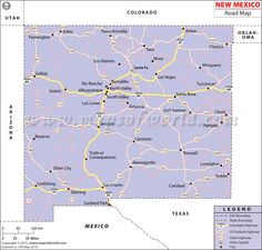 Map Of New Mexico Cities STATE OF NEW MEXICO USA Pinterest - New mexico in us map