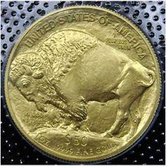 BU 2013 $50 GOLD BUFFALO on eBid United States