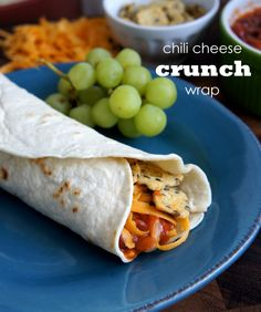 Chili Cheese Crunch Wrap + a Giveaway