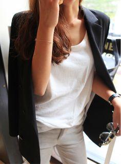 blazer preto - black blazer