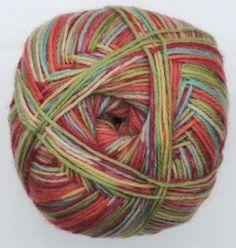 Hot Socks Stripes 4-fach superwash - Kids fashion stripes 1661-604, 75% Merino superwash by ColorfullmadeShop on Etsy