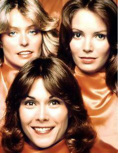 Charlie's Angels... Farrah Fawcett, Jaclyn Smith, Kate Jackson.