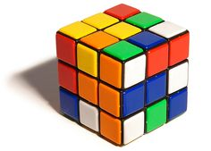 Rubik's Cube - never figured it out - boo