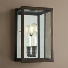 Simone Mirrored Wall Sconce