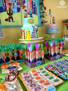 zootopia Birthday Party Ideas | Photo 7 of 25