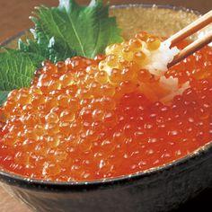 いくら醤油漬/4瓶セット・北海道土産(HOKKAIDO)