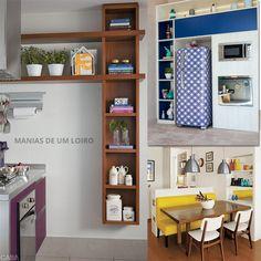 Decoração para Cozinha | Inspiração. Confira o Post Completo: http://maniasdeumloiro.blogspot.com.br/2015/10/decoracao-de-cozinha-inspiracao.html