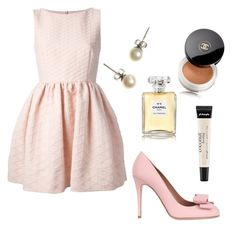 REDValentino by laurentaylor55 on Polyvore featuring RED Valentino, J.Crew, Chanel and philosophy