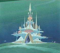 The Little Mermaid - Disney - Concept Art