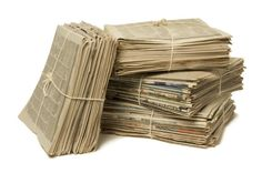 El papel del papel en la prensa