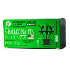 6 scatole di 3 Dieta Della Ballerina' Bevanda Super Forte 18 borse/per scatola