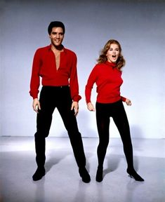 Elvis Presley and Ann-Margret, Viva Las Vegas, 1964 Elvis Presley Movies, Elvis Presley Photos, Classic Hollywood, Old Hollywood, Hollywood Couples, Celebrity Couples, Ann Margret Photos, Vintage Mode, Thats The Way