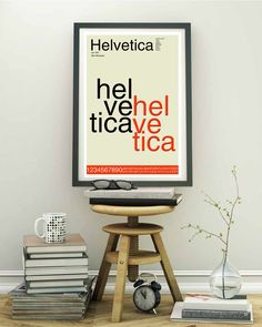 Items similar to Helvetica Font Typography Poster, Mid Century Modern Style Print 24 x - Swiss Type Specimen, Minimalist Wall Art Graphic Design on Etsy Modern Typography, Typography Prints, Typography Poster, Quote Prints, Poster Prints, Posters, Kitchen Prints, Kitchen Wall Art, Kitchen Humor