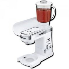 Cuisinart Stand Mixer Blender Accessory Golda's Kitchen Stand Mixer, Appliances, Kitchen, Accessories, Gadgets, Cooking, Home Appliances, Kitchens, Cuisine