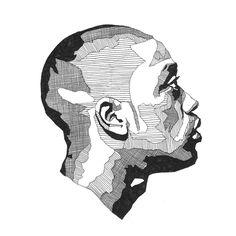 Jacob Everett - Examples Of Decoration With Pallets Biro Art, Pen Art, Cartoon Drawings, Art Drawings, Stippling Art, Street Art Banksy, Unusual Art, Art Pages, Art Sketchbook