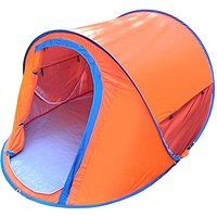 Today's Deals Generic Daily Family 2 Person Tent Orange sale