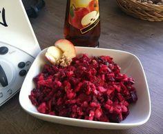 Rezept Fruchtiger Rote Beete Apfel Salat von gibsy89 - Rezept der Kategorie Vorspeisen/Salate