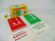 Frank Schaffer Arithmetic Flash Cards Sets  133 by DivineOrders