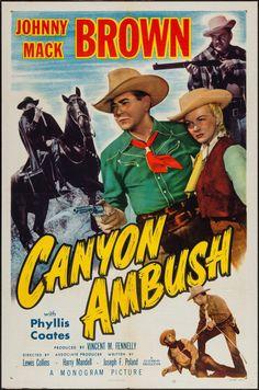 """Movie Posters:Western, Canyon Ambush (Monogram, 1952). One Sheet (27"""" X 41""""). Western..... Image #1"""
