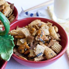Furikake Chex Mix! I fell in love with this snack during my first holiday in Hawaii and ever since I have always made this as my tradition :) Mele Kalikimaka!