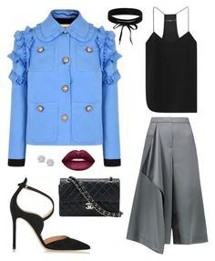 """""""Untitled #760"""" by einatv on Polyvore featuring Gucci, TIBI, Gianvito Rossi, Chanel, Boohoo, Effy Jewelry and Lime Crime"""