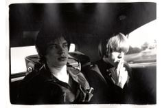Previously unseen vintage silver gelatin prints of the Rolling Stones on view at Atlas Gallery