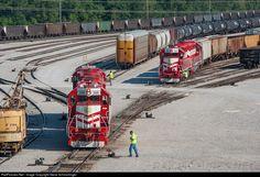RailPictures.Net Photo: TRRA 2008 Terminal Railroad Association of St. Louis EMD GP38-2 at Madison, Illinois by Steve Schmollinger