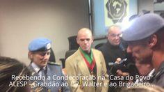 Medalha Tiradentes - Patrono da Polícia Militar.