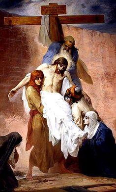 Nikolay Andreyevich Koshelev, (1840-1918): Descendimiento de la cruz.