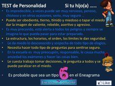 Personalidad Tipo 6 del Eneagrama