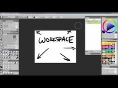 In this video you will learn how to navigate the Corel Painter 12 and customize your workspace by rearranging the interface to make commonly used tools more . Painting Tutorials, Art Tutorials, Corel Painter, Used Tools, Restore, Save Yourself, Palette, Draw, Learning