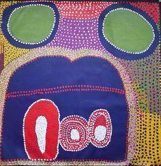 Ruby Williamson. For more Aboriginal art visit us at www.mccullochandmcculloch.com.au #aboriginalart #australianart #contemporaryart