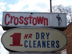 Cool old sign--Collingswood NJ Old Signs, Dry Cleaning, Signage, Design, Dry Cleaning Business, Billboard, Signs