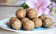 Apricot Earthy Raw Bliss Balls RecipeGreen Goodness Co Raw Bliss Balls, Raw Balls, Vanilla Protein Powder, Balls Recipe, Earthy, Cravings, Sweet Tooth, Nutrition, Healthy Recipes