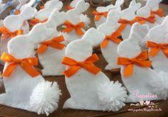 Coelhinhos porta guardanapos