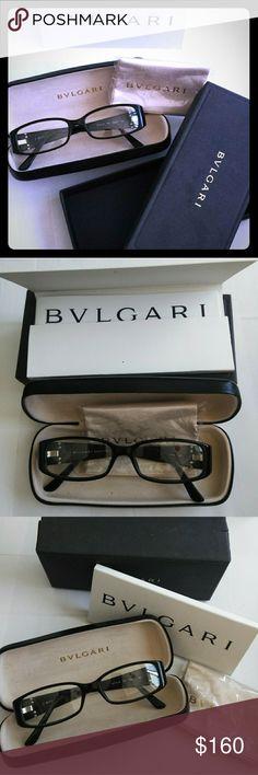 c3b6eba5918 Bvlgari Frames Brand new Bvlgari frames in box. They have clear non  prescription in them