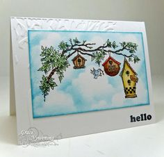 Hello from the tree tops! by scrappigramma2 - Cards and Paper Crafts at Splitcoaststampers