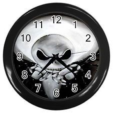 Jack Nightmare Before Christmas Wall Clock Black Collection Gifts For Year Nightmare Before Christmas Clock, Black Room Decor, Dark House, Cool Clocks, Favorite Holiday, Vinyl Records, Wall, Gifts, Ebay