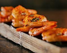 Bourbon Smoked Shrim