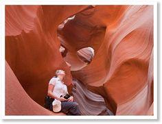 Bijzondere Antilope Canyon tijdens je West Amerika rondreis