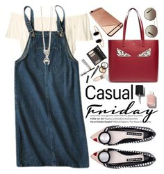 """""""Casual Friday"""" by oshint ❤ liked on Polyvore featuring Borghese, Balmain, Alice + Olivia, Fendi, Chanel and Prada"""