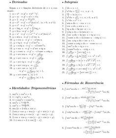62 best calculo integral images on pinterest knowledge maths fun arquivo tabeladerivadaseintegraispdf enviado por ronny no curso de engenharia civil na fac pitgoras de so luiz sobre tabela completa com as fandeluxe Choice Image