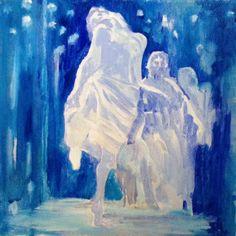 Acrylic on canvas 30x30 #Rithva