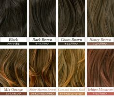Different Brown Hair Color Shades - http://www.haircolorer.xyz/different-brown-hair-color-shades-3552