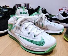 Nike LeBron 11 Low Easter Detailed Pictures