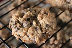 "Famous Oatmeal Chocolate Chip Cookies - one pinner says, ""Truly the best oatmeal choc chip cookies I've made!"""