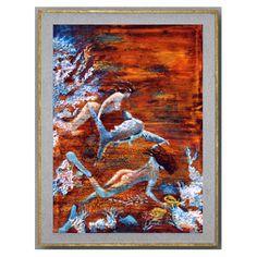 Les Filles de la Mer - Elenart - Artiste Peintre - Décoration d'intérieur
