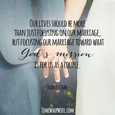 God's mission for us as a couple